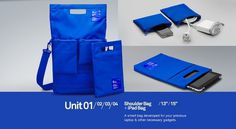 Unit Portables | Welcome #design #unit #case #blue #portables