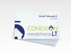 Conexión Inmobiliaria LT -Branding #business #branding #card #de #tarjetas #presentacin #corporate #identity #logo