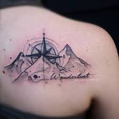 #wanderlust #ink #tattoo by Russel van Schaik