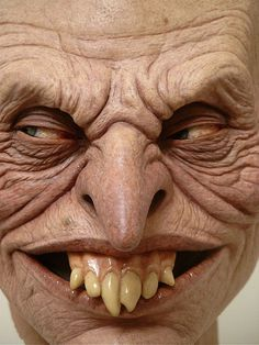 Jordu Schell / Schell Sculpture Studios - Leprecaun #teeth #sculpture #horror #leprecaun #leprechaun #scary