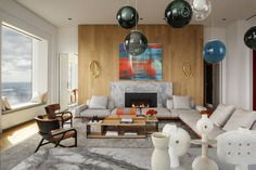 living room, New York / Axis Mundi