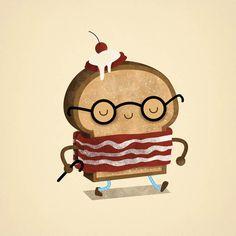 breakfast-1 #illustration