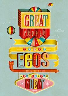 NiceFuckingGraphics! #circus #poster #typography