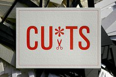 cuts business card design 16 #edge #cutting #love #for