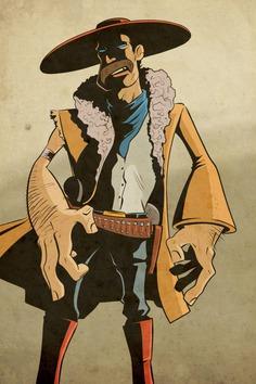 Gunslinger, Christian Strain