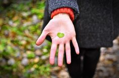 All sizes | Lovely Autumn | Flickr - Photo Sharing! #heart #palm #leaf #autumn #lovely #hand #love