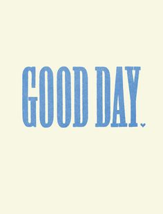 typography Nil Santana #typography #type #blue #good day