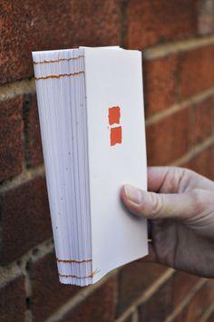 © juliapeintner.com; bricklaying #minimal #book #brick #stitch #bound