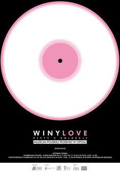 Winylove. Płyty z kolekcji Muzeum Polskiej Piosenki w Opolu #exhibition #music #poster #vinyl