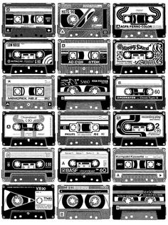 Mix Tapes on Behance