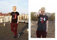NATRI - Unisex T-Shirt Collection - Lookbook - www.natri.de #modern #print #design #shirt #minimal #fashion #type #typography