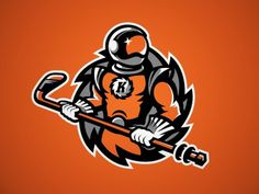 Komets #vector #branding #space #komets #logo #hockey