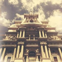 Tumblr #philadelphia #instagram #city #color #corrected #iphone #vintage #hall