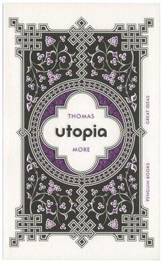 The Cover Archive Livro: Utopia, design por David Pearson