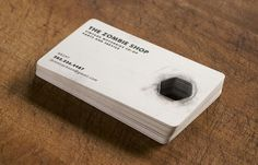 Zombie Shop - Whiskey Theatre Design Co. #card #business