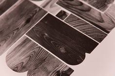 Editions of 100 — BUILD #wood #type #poster #texture