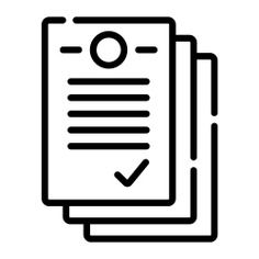 See more icon inspiration related to paper, files and folders, business and finance, proposal, sheets, archives, documents and approval on Flaticon.