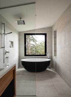 bathroom, Québec / Natalie Dionne Architecture
