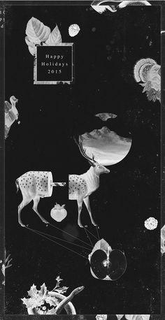 Christmas 2015- postcard collage