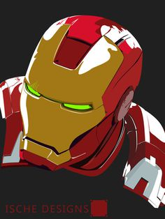 Iron Man Demon - IscheDesigns #designs #iron #demon #ische #man #ironman