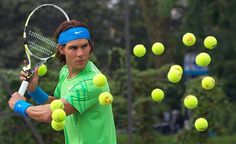 Google Reader (4) #model #tennis #nadal #rafa #balls #wax