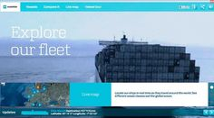 Maersk Fleet | Awwwards | Site of the day #dgffgdg