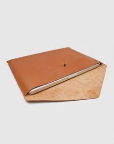 The Atik — Leather Laptop Case