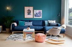 Magazine Rack - DIY Clothes Hanger Storage Idea | Apartment Therapy