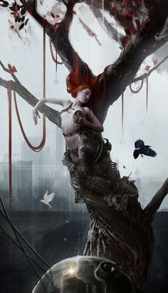 Illustrations by Bastien Lecouffe Deharme #arts #illustrations #inspirations