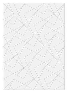 Graphic Porn #geometric #pattern #lines #susann stefanzen