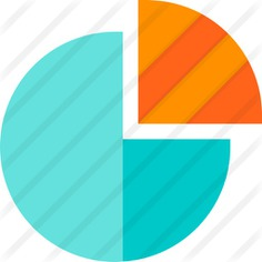 See more icon inspiration related to business and finance, stats, graphical, pie chart, marketing and statistics on Flaticon.