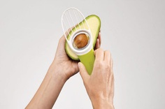 GoAvocado: The New Kitchen Staple - IPPINKA Avocado lovers rejoice! This tool is able to cut, de-stone, and slice your avocados as if it were butter. Thus, prompting us to forgo any avocado related injuries in the future. Dubbed the GoAvocado, this tool is intended to make extracting the stone, or pit, a safer process.