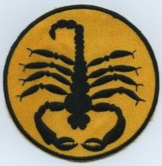 Other #patch #yellow #scorpion