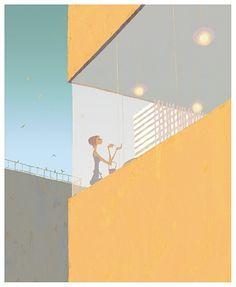 pado3.jpg (489×595) #illustration #art #facades #perspectives