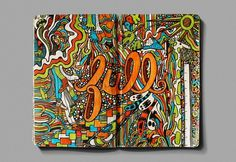 sketchbook-16 | Fubiz™ #sketchbook #colorful #doodle #full