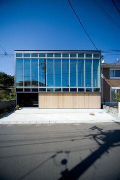 Housing of the Ridge by Urban Architecture Planning Partnership #minimalist #house