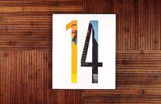 Ritxi Ostáriz. Lados mag 14 #numerals #print #wood #mask #clipping