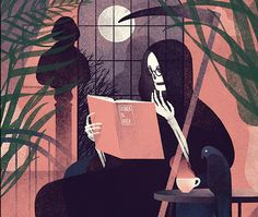 By Karolis Strautniekas #illustration #death