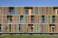 La Mola Conference Centre / b720 Fermín Vázquez Arquitectos #fields #architecture #transparency #facades