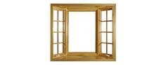 Windows Krivoy Rog | Wooden windows of Krivoy Rog | Brown windows