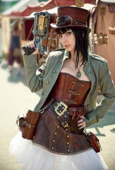 Tumblr #fashion #steampunk