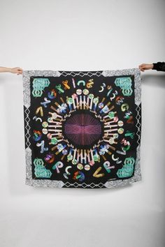 http://andreacrews.com/store/14 82 thickbox/puissance blue scarf.jpg #fashion #print #scarf