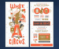 Fame | Fame – What. A. Circus. event creative