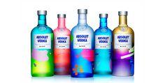 Absolut Unique Vodka #packaging #color #vodka