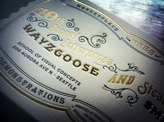 Wayzgoose-invitation.jpg (680×510) #design #letterpress #typography