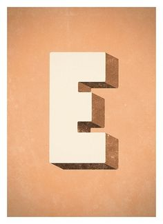 Alphabet Graphic poster RetroStyle typography wall by NeueGraphic #prints #print #alphabet #art #poster #typography