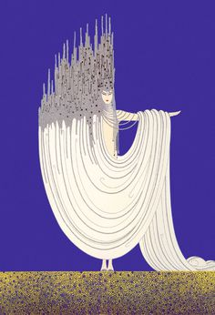 Fashion illustrations by Erté, c.1920s-1930s