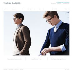 High Tide | Projects | Warby Parker - Branding