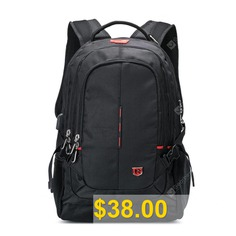SWIMADE #15.6 #Multifuncation #Laptop #Anti-Theft #Backpack #With #USB #Charging #and #Headpone #Port