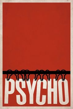 Psycho Â« BrickHut #movie #psycho #matt #minimal #poster #owen